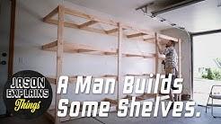 Garage Storage Shelves   EASY BUILD EXPLAINED