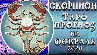 Скорпион. Таро прогноз на февраль 2020 года от Магия Марго.