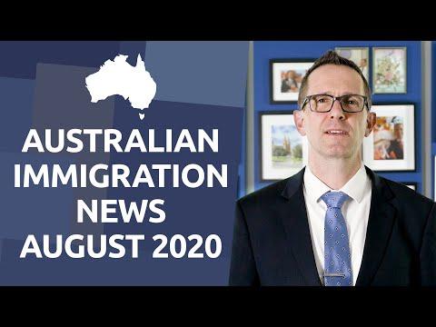 Latest Australian Immigration News - August 2020