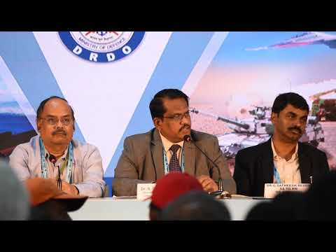 Defence Research & Development Organisation DefExpo 2018 Press Conference By Dr Christopher | Part-I