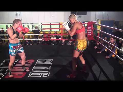 Sheila McCormack Vs Amanda Ward  HGH  Muay Thai