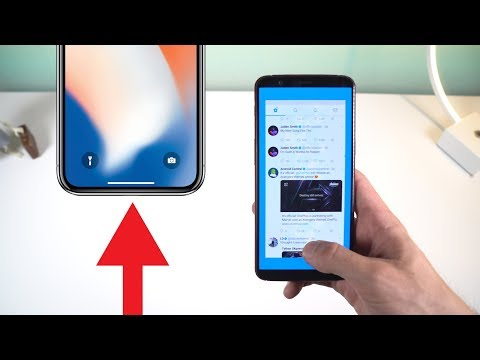iPhone X Gestures on Android!