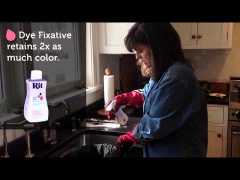 Rit Dye 101 Dyeing With Black Youtube