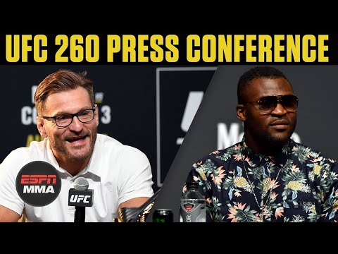 UFC 260: Stipe Miocic vs. Francis Ngannou 2 Press Conference | ESPN MMA