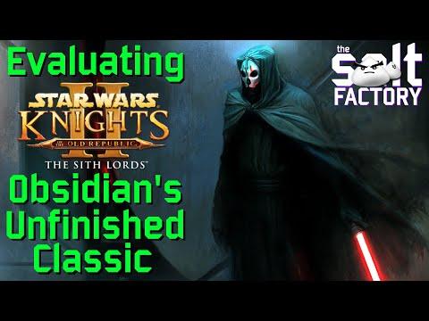 Star Wars KOTOR II: Obsidian's Unfinished Classic