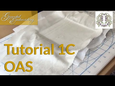 Tutorial 1C Outline alignment stitches