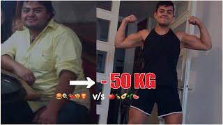 Bajar de peso antes y despues