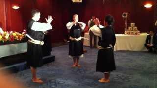 少林寺拳法 世界大会二位メンバーの三人掛け演武 thumbnail