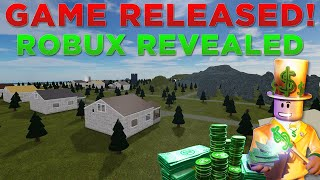 My Roblox Game is Released! Here's How Much Robux I've Made!