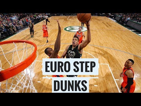 NBA CRAZY EURO-STEP DUNKS & POSTERIZES