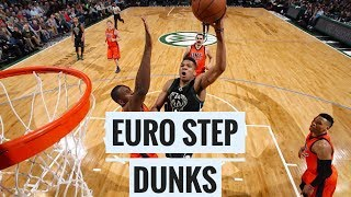 NBA CRAZY EURO-STEP DUNKS & POSTERIZES