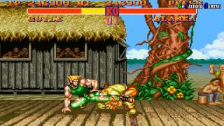 Street Fighter 2: World Warriors - Guile Playthrough Hard