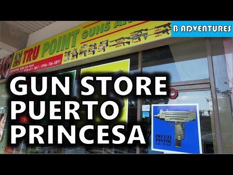 Breakfast & Gun Store, Puerto Princesa Palawan, Philippines S3, Travel Vlog #68