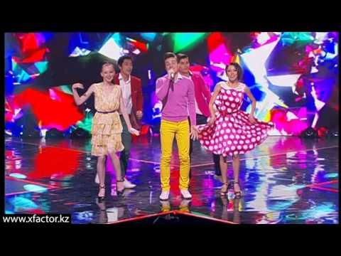 """Владимир Новиков. """"Если у вас нету тёти"""". X Factor Казахстан. 7 концерт. Эпизод 16. Сезон 6."""
