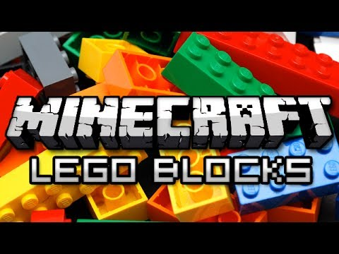 Minecraft: LEGO BLOCKS MOD! (Billund Mod Showcase)