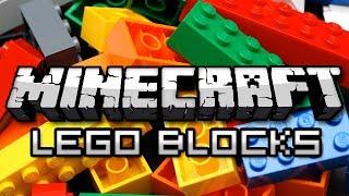 Minecraft: LEGO BLOCKS MOD! (Billund Mod Showcase)