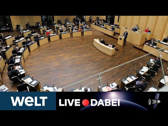 INFEKTIONSSCHUTZGESETZ: Bundesrat entscheidet über Corona-Bundesnotbremse | WELT LIVE DABEI