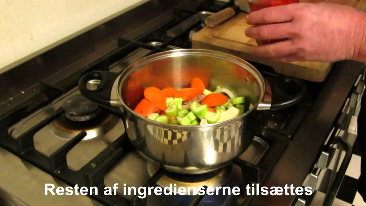 Billig Mad Kraftig Suppe Med Kylling Youtube