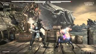 Mortal kombat X - Kitana Klassic Tower + Ending (Mournful)