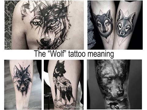 The Wolf Tattoo Meaning - Facts About Drawing And Photo Examples For The Site Tattoovalue.net