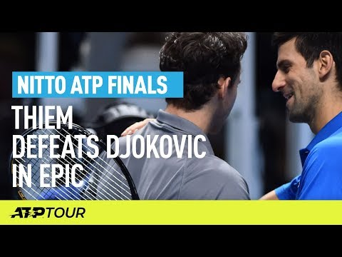 Thiem Defeats Djokovic In London Epic | Nitto ATP Finals | ATP