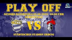 Bayernliga Halbfinale Erding Bulls vs. Franken Knights