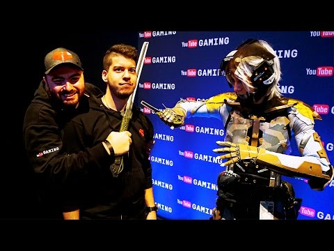 PAX 2015   Hike Plays Rock Band 4 On Stage & Tests Out Forza 6!! Hike In Real Life VLOG