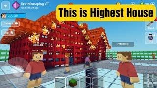 Highest House - Block Craft 3d: Building Simulator Games for Free screenshot 4