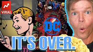 """DEADPOOL creator ROB LIEFELD """"gets popcorn"""" for the collapse of DC COMICS!"""