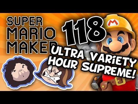 Super Mario Maker: Pachinko Party - PART 118 - Game Grumps