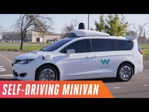 Google's self-driving minivan is here