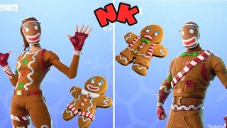 FORTNITE-The wait is over, the gingerbread set has returned (Biscotão and Biscoita).