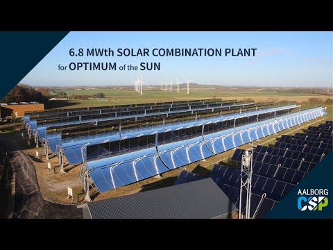 Aalborg CSP - Denmark's most advanced solar district heating plant