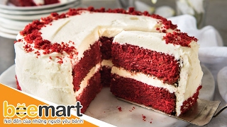 Hướng dẫn làm bánh Red Velvet thơm ngon hấp dẫn - BEEMART