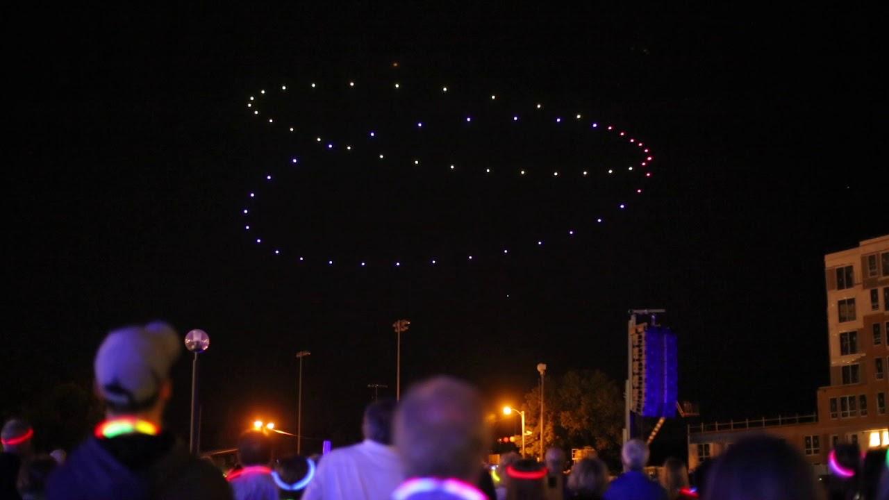 VIDEO: 'An Evening With Ken Burns' drone light show | Local