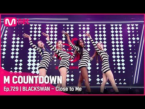 [BLACKSWAN – Close to Me] KPOP TV Show | #엠카운트다운 EP.729 | Mnet 211014 방송