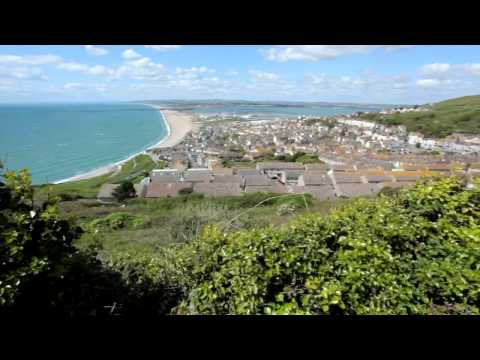 Views of Chesil from Portland Heights