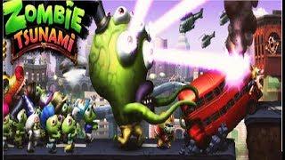 - Зомби цунами 2 Мульт Игра для детей про зомби ZOMBIE TSUNAMI Мобильные игры