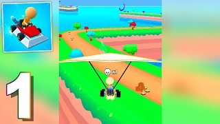 Go Karts! (by VOODOO) Gameplay Walkthrough 1-5 Level (Android)