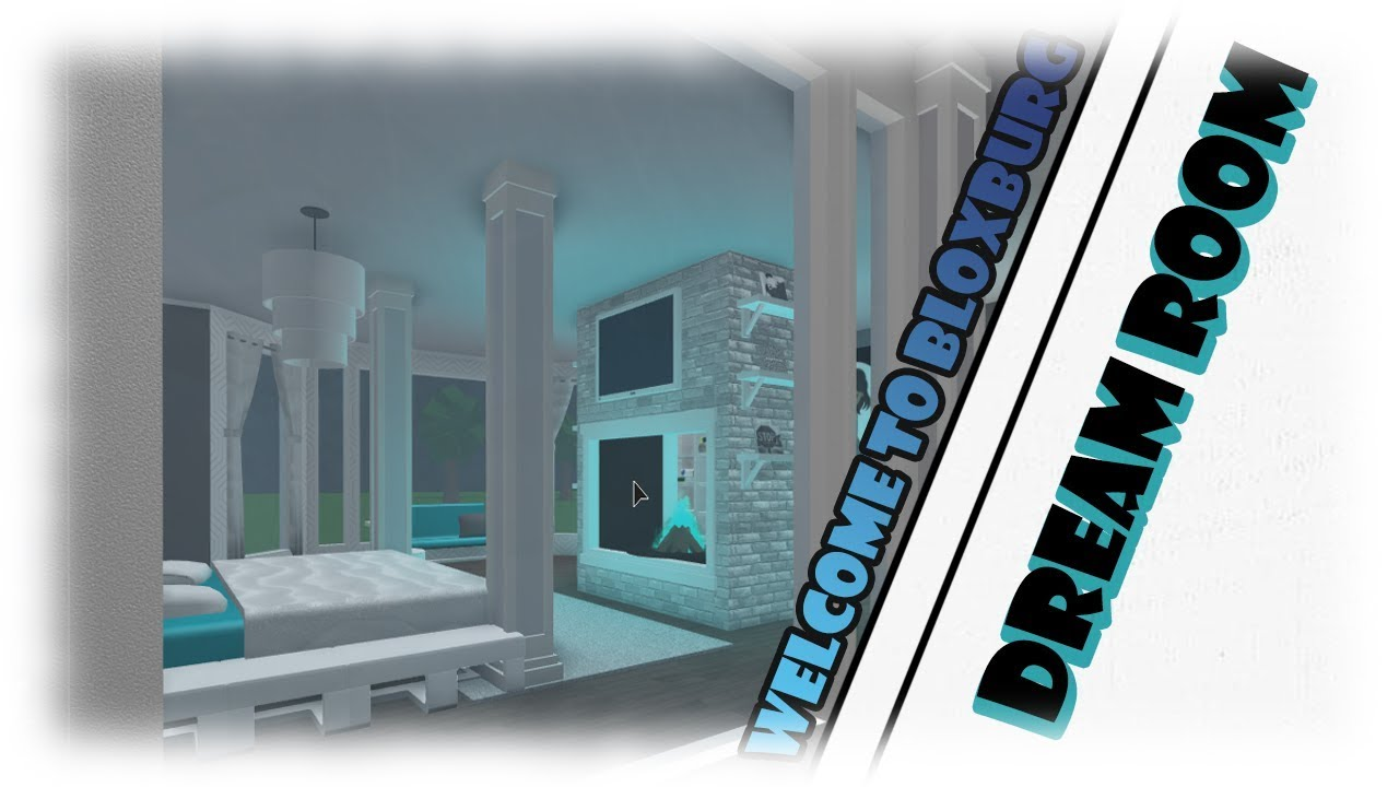 roblox dream room build off bloxburg youtube