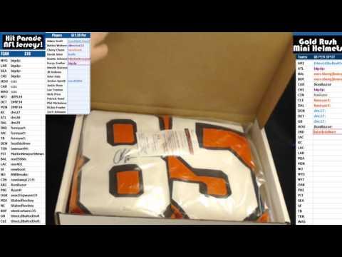 2017 03 16 3 Box Break HP NFL Series 10, YA Tittle, Chad Johnson, Chad Johnson