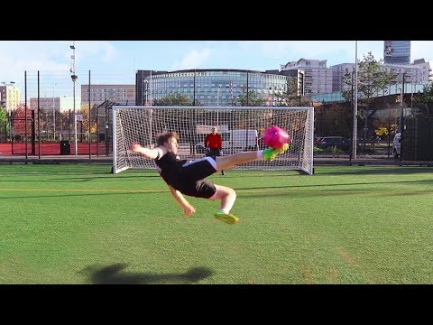 SCISSOR KICK FOOTBALL CHALLENGE