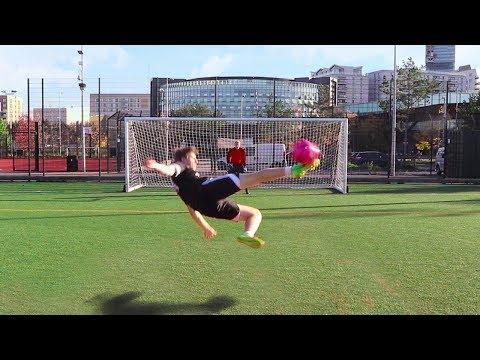 SCISSOR KICK FOOTBALL CHALLENGE