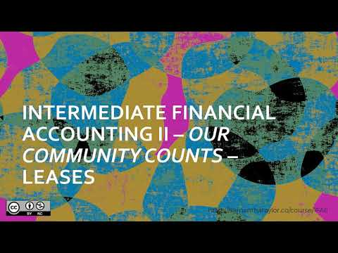 Part 2: Leases ~  Our Community Counts ~