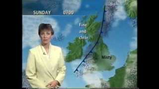 BBC Weather 14th August 1993