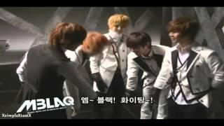 mblaq 엠블랙 behind the scenes making of cry music video hd