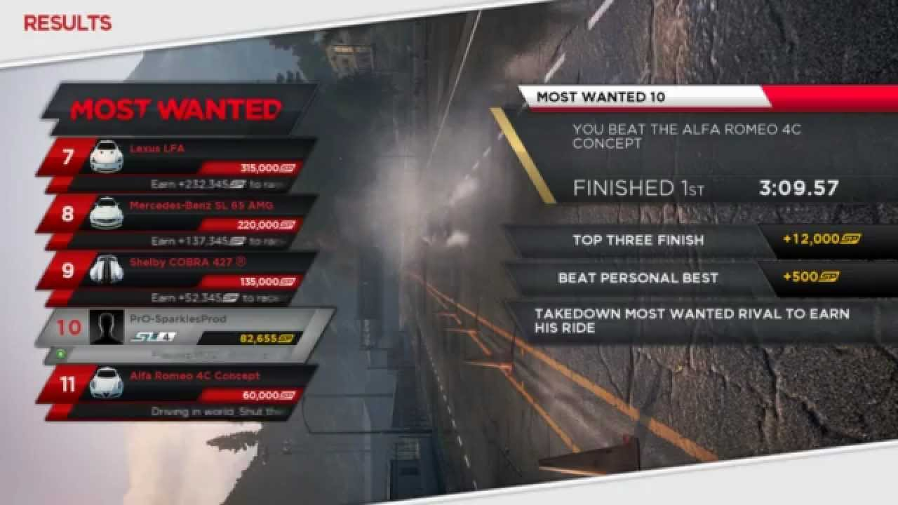 Need for Speed: Most Wanted 2012 - Blacklist #10 - NFS001 ...