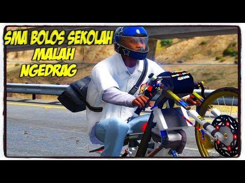 BOCAH SMA BOLOS SEKOLAH MALAH NGEDRAG !    GTA 5 MOD BAHASA INDONESIA