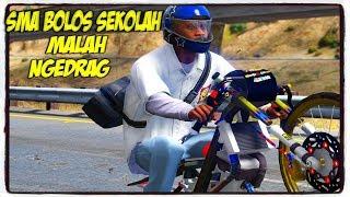 BOCAH SMA BOLOS SEKOLAH MALAH NGEDRAG ! || GTA 5 MOD BAHASA INDONESIA