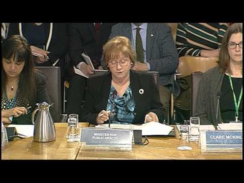 Health and Sport Committee - Scottish Parliament: 23rd February 2016